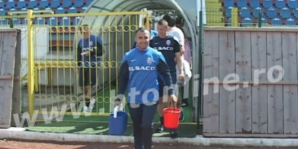 Fenomenul Ice Buket şi la FC Botoşani FOTO