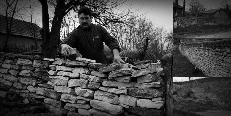 Mitoc, Horia - satul de piatra (colaj)