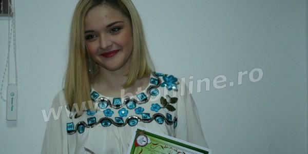 Miruna Buză a cucerit trofeul Mărţişor Dorohoian, ediţia a XXXII-a. VEZI lista premianţilor GALERIE FOTO