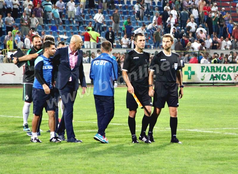 """FC Botoşani – Steaua 0-1. Valeriu Iftime: """"Nu te poți lua la trântă cu arbitri. Cine-i poate face ceva lui Tudor? E în lumea lui. Atunci când pari frustrat, e o problemă. Ne-a viciat în două trei ocazii"""""""
