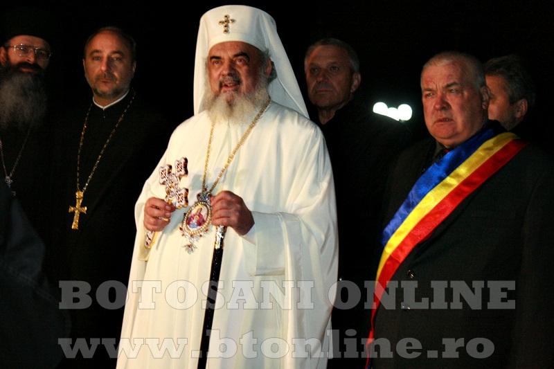 Manastirea Zosin, sosirea Patriarhului Daniel (12)