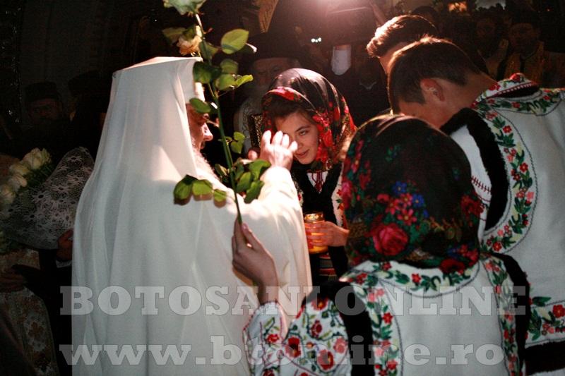 Manastirea Zosin, sosirea Patriarhului Daniel (4)