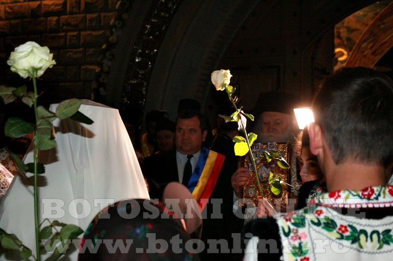 Manastirea Zosin, sosirea Patriarhului Daniel (5)