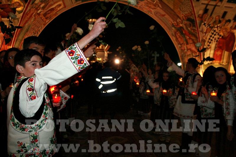 Manastirea Zosin, sosirea Patriarhului Daniel (7)