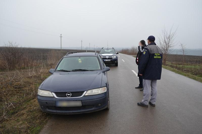 politia de frontiera masina cu tigari1