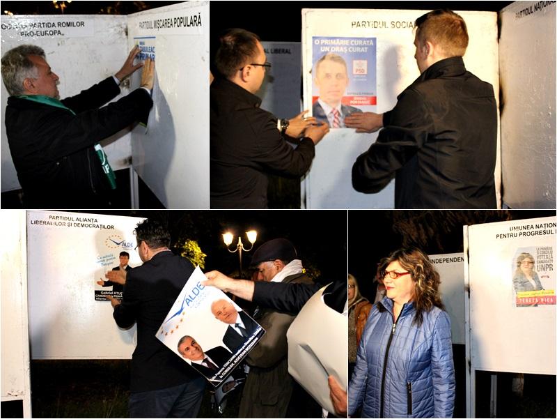 start de campanie electorala colaj