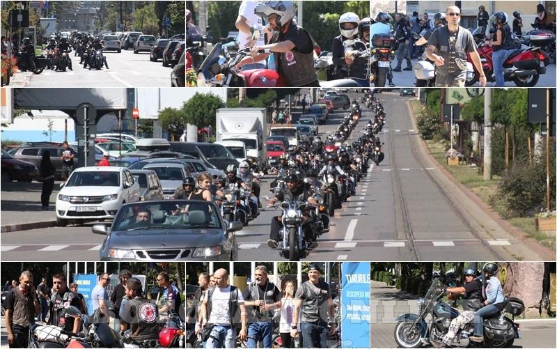 parada motociclisti in Botosani (colaj)