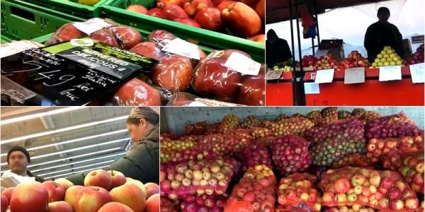Botoşaniul este invadat de mere din Polonia, Italia şi Olanda. Producătorii autohtoni au depozitele pline şi nu au unde să le vândă deşi sunt mult mai ieftine