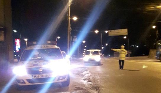 politisti rutiera noaptea