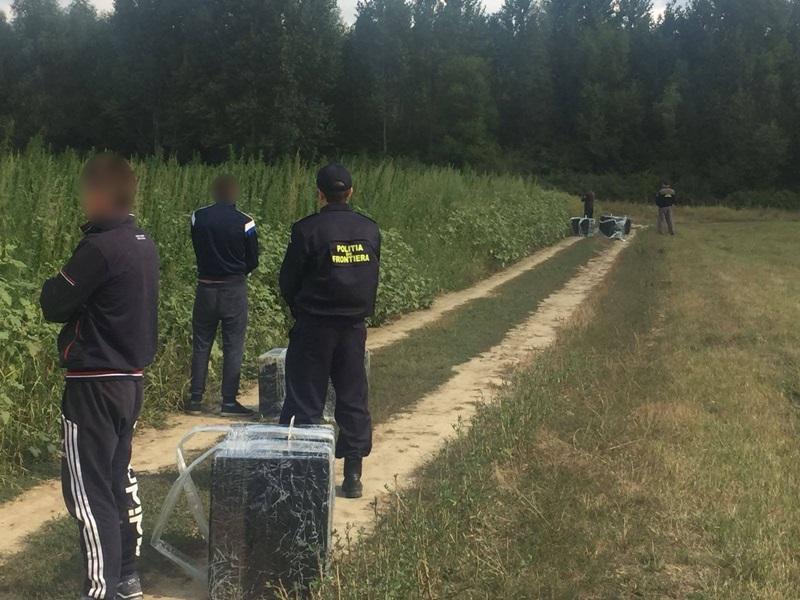 politia de fontiera contrabandisti tigari (5)