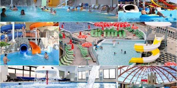 Aquaparcuri şi zone de agrement din România, mai spectaculoase decât Cornişa şi cu tarife mai mici GALERIE FOTO