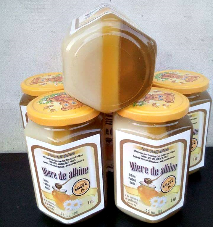 miere in trei culori, ferma apicola marineac (1)
