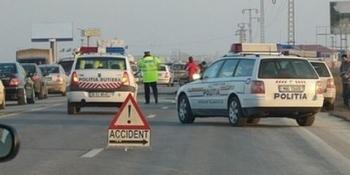accident Sibiu, foto B1