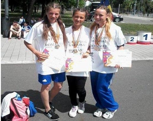 atletism medalii