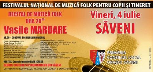 festival folk saveni