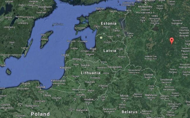 harta rusia
