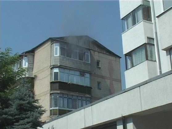 incendiu apartament George Enescu (1)