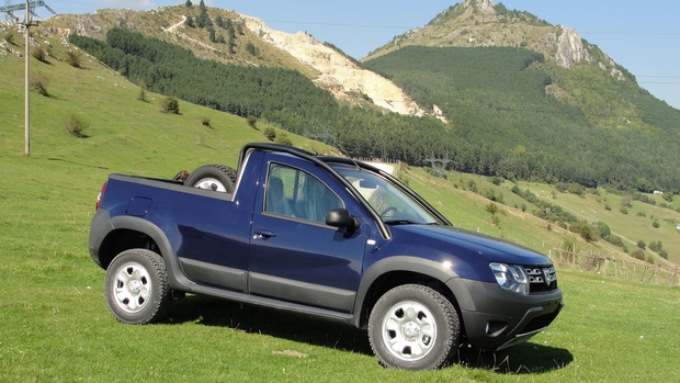 duster pick-up foto prosport