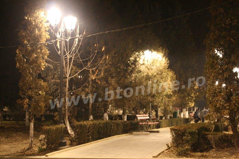 iluminat parc