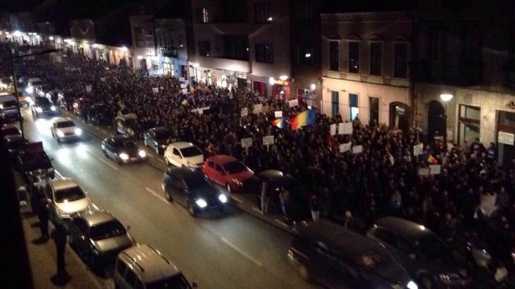 proteste la cluj, foto Realitatea