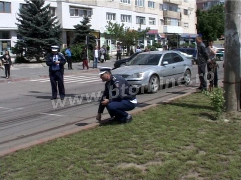 accident municipiul Botosani, trecere pietoni (1)