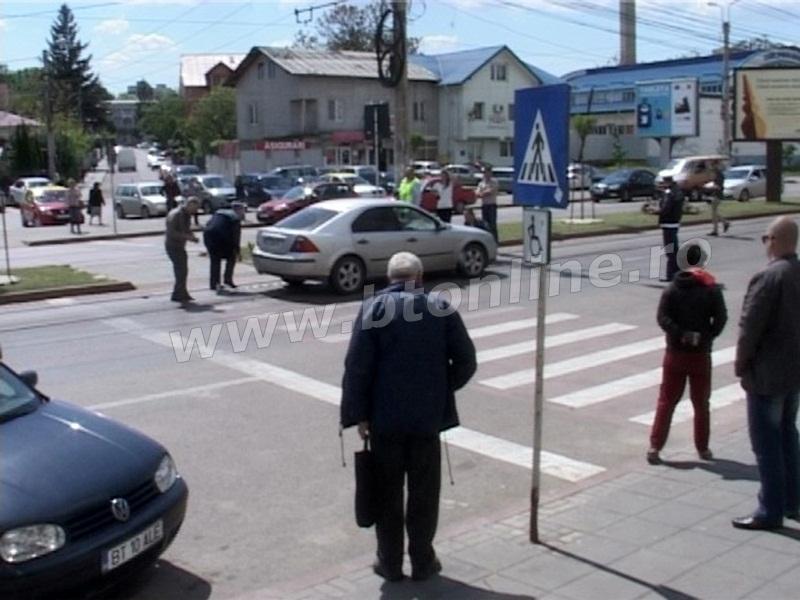 accident municipiul Botosani, trecere pietoni (8)