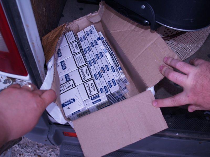 cutie cu tigari