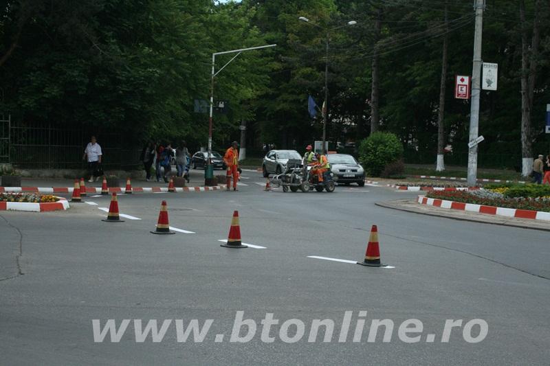 intersectie bulevard, muncitori conrec1