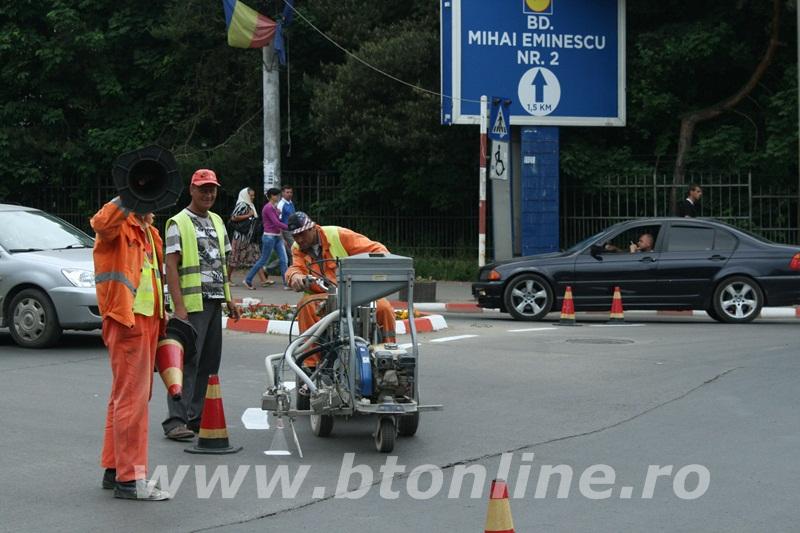 intersectie bulevard, muncitori conrec6