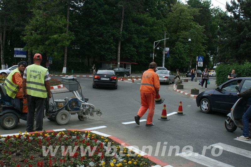 intersectie bulevard, muncitori conrec9