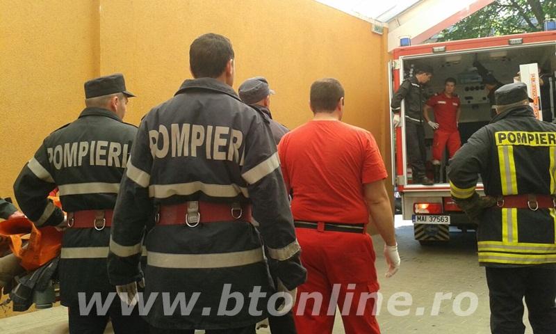 interventie pompieri, persoana supraponderala (1)