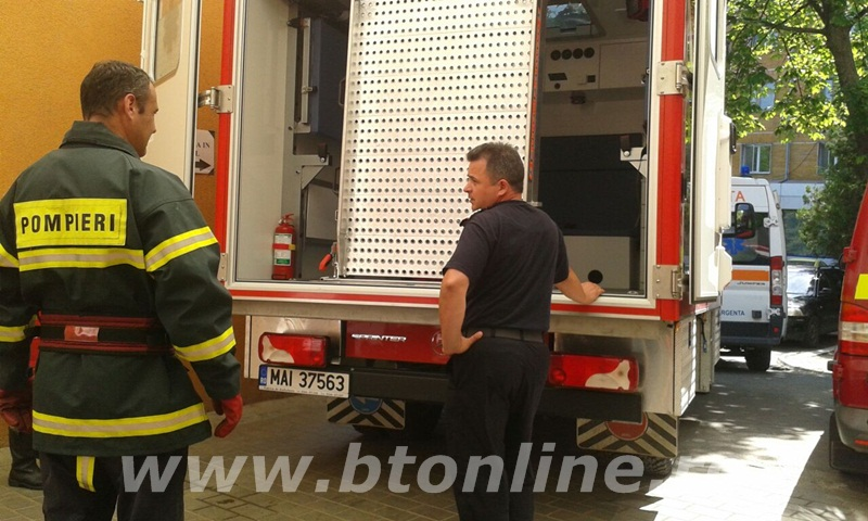 interventie pompieri, persoana supraponderala (2)