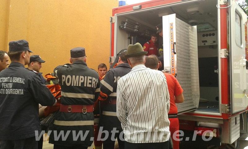 interventie pompieri, persoana supraponderala (3)