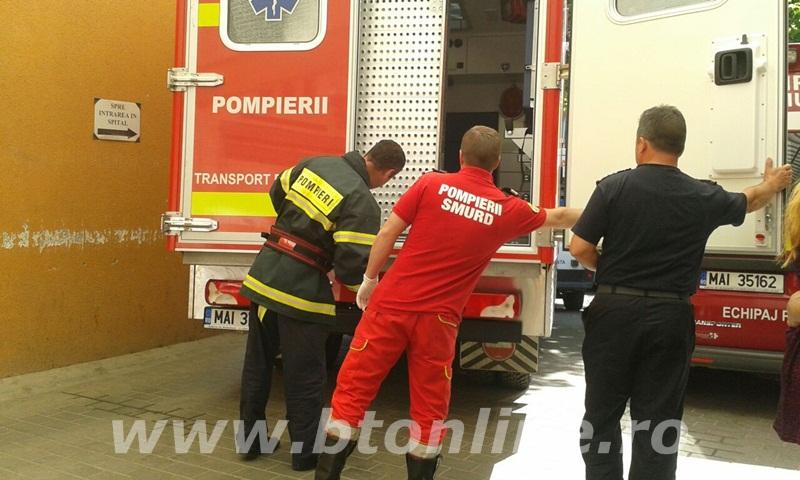 interventie pompieri, persoana supraponderala (5)