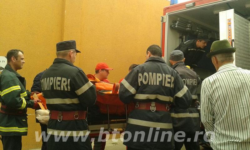 interventie pompieri, persoana supraponderala (6)
