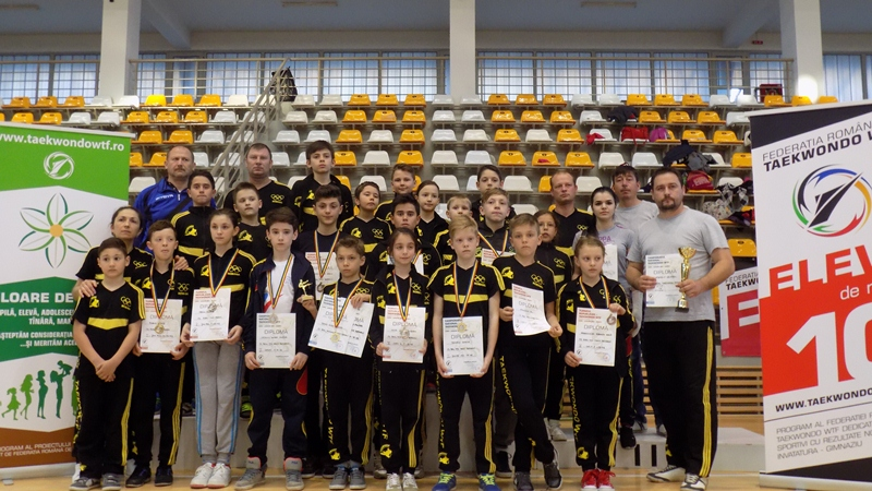 real taekwondo team botosani