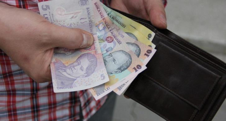 bani portofel foto realtatea
