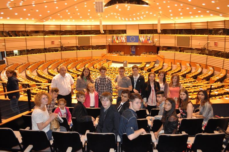 elevi parlamentul european