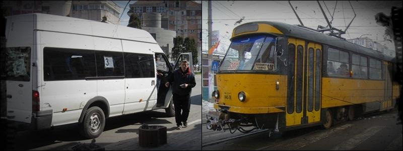 maxitaxi, tramvai