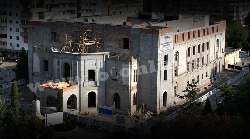 Teatrul Mihai Eminescu in constructie (1)