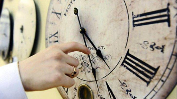 ceas ora de iarna foto realitatea.net