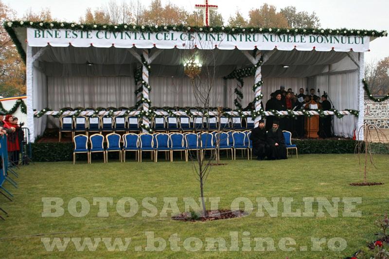 Manastirea Zosin, sfintire Patriarh (2)