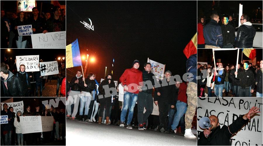 Protest Botosani 5 noiembrie 2015