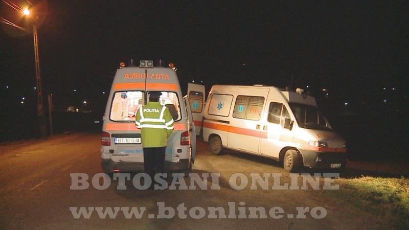 accident ambulanta ungureni, botosani (1)