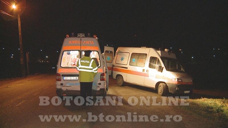accident ambulanta ungureni, botosani (2)