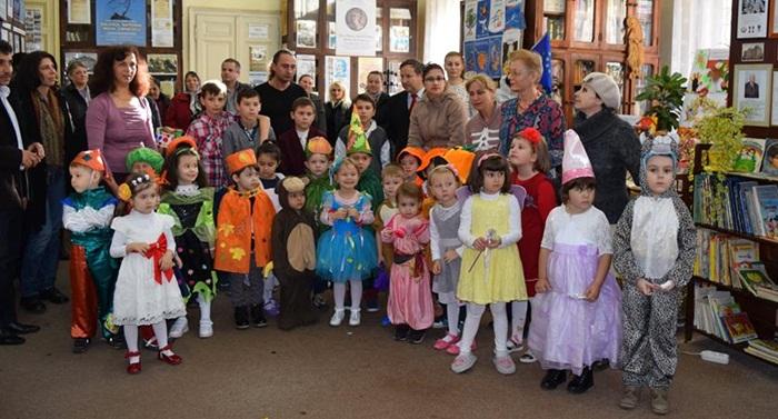 copii gradinita carnavalul toamnei1