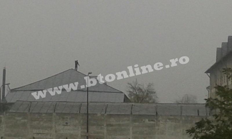 protest penitenciar botosani