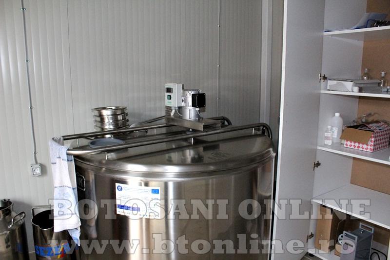 Vlasinesti, centru de colectare a laptelui (4)