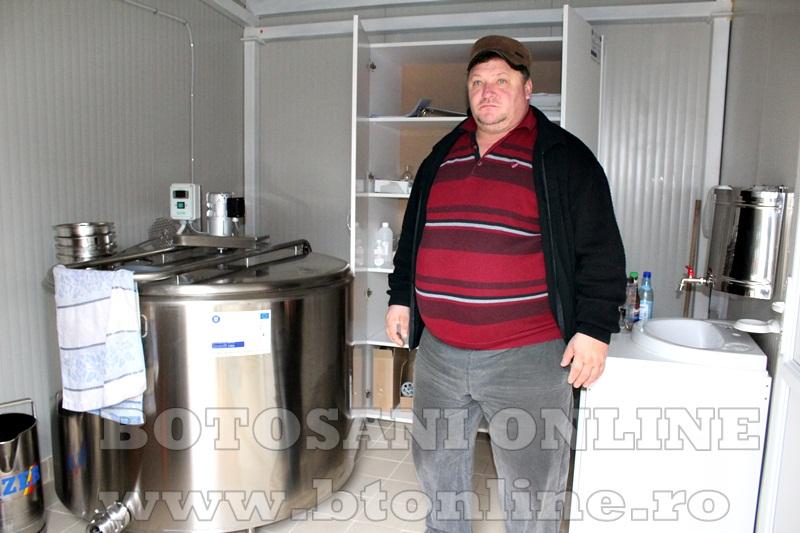 Vlasinesti, centru de colectare a laptelui (6)