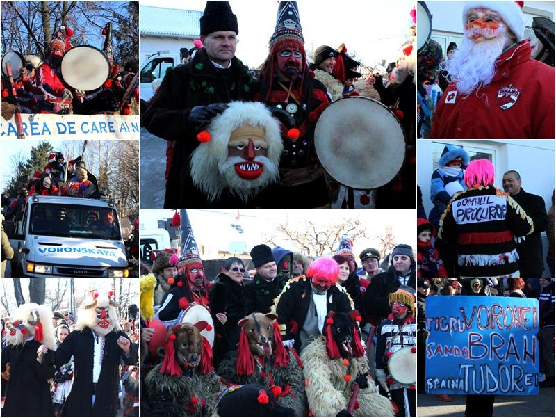 Vorona, traditii, datini si obiceiuri 31 decembrie 2015  colaj